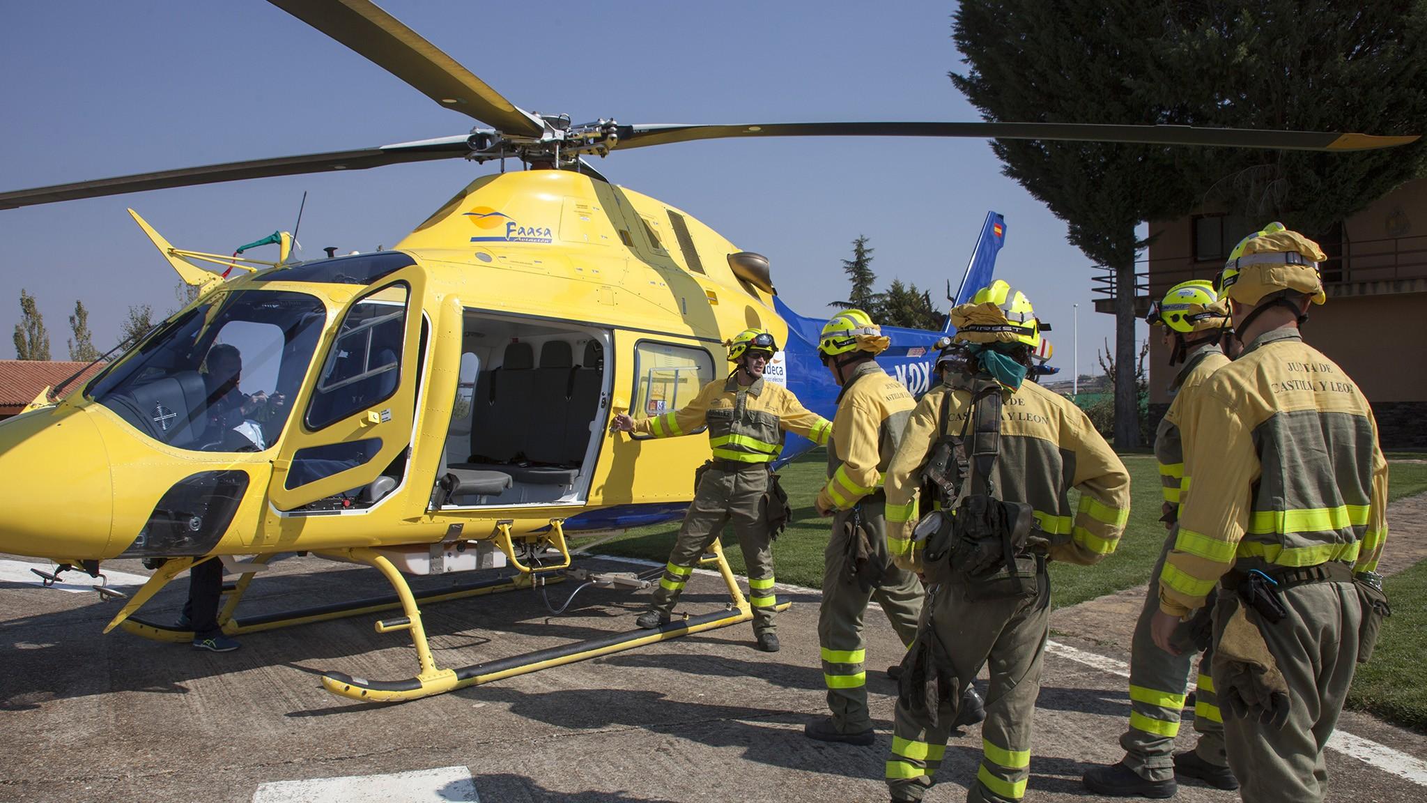 El Bodón Helicopter Base (Salamanca)