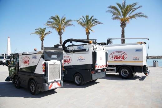 Servicio de recogida de residuos municipales, gestión de parques verdes y limpieza viaria del municipio de Santa Margalida (Islas Baleares)