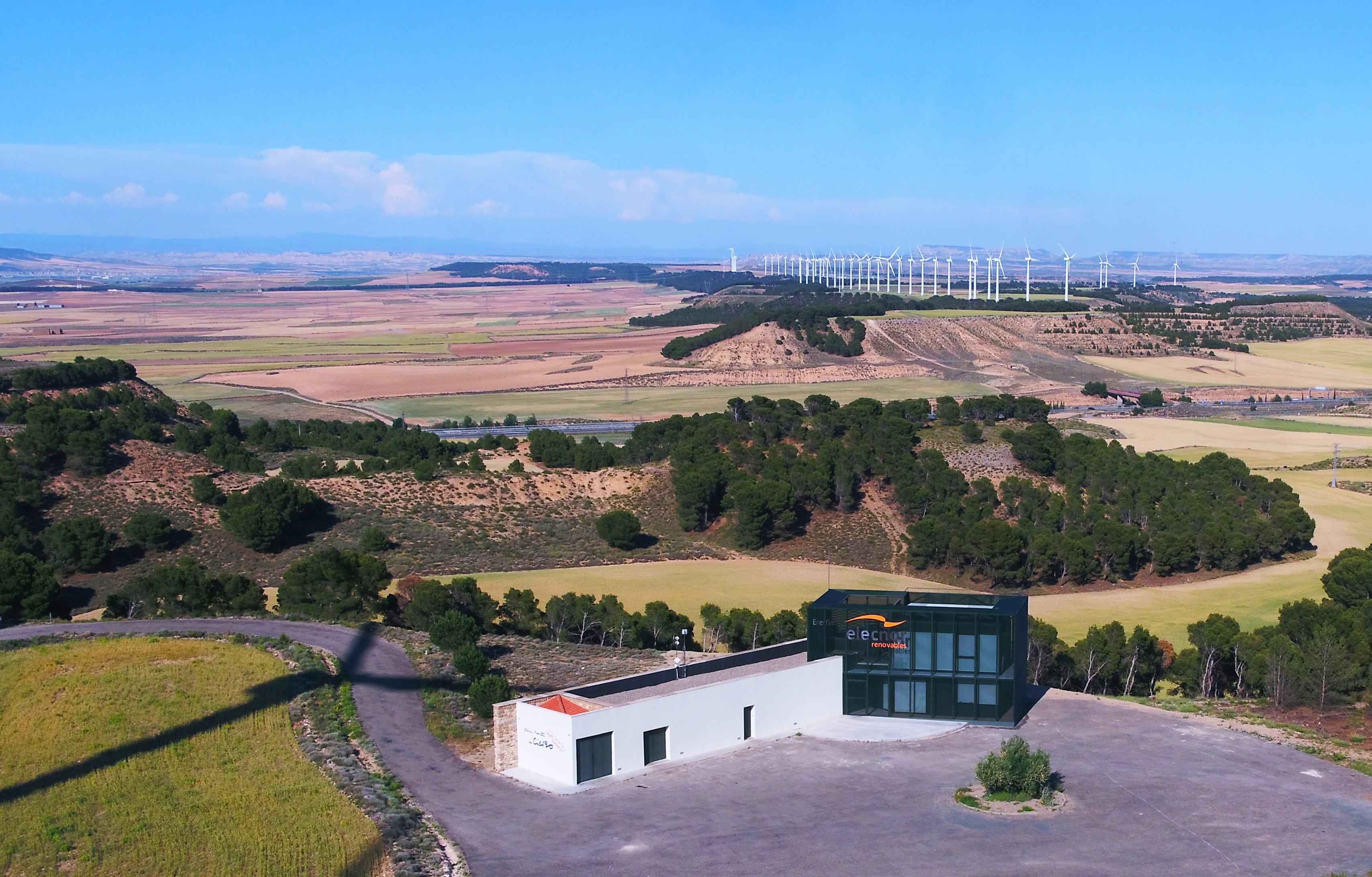 Parques eólicos Montes de Cierzo. Navarra