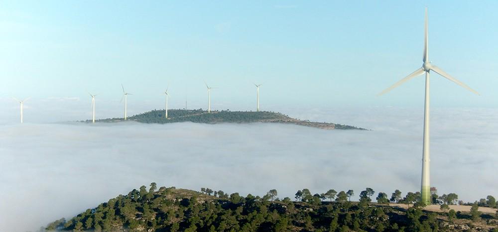 Parque eólicos de Villanueva I y II. Valencia