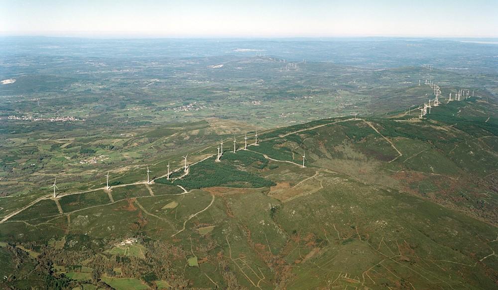 Parques eólicos Faro Farelo. Galicia