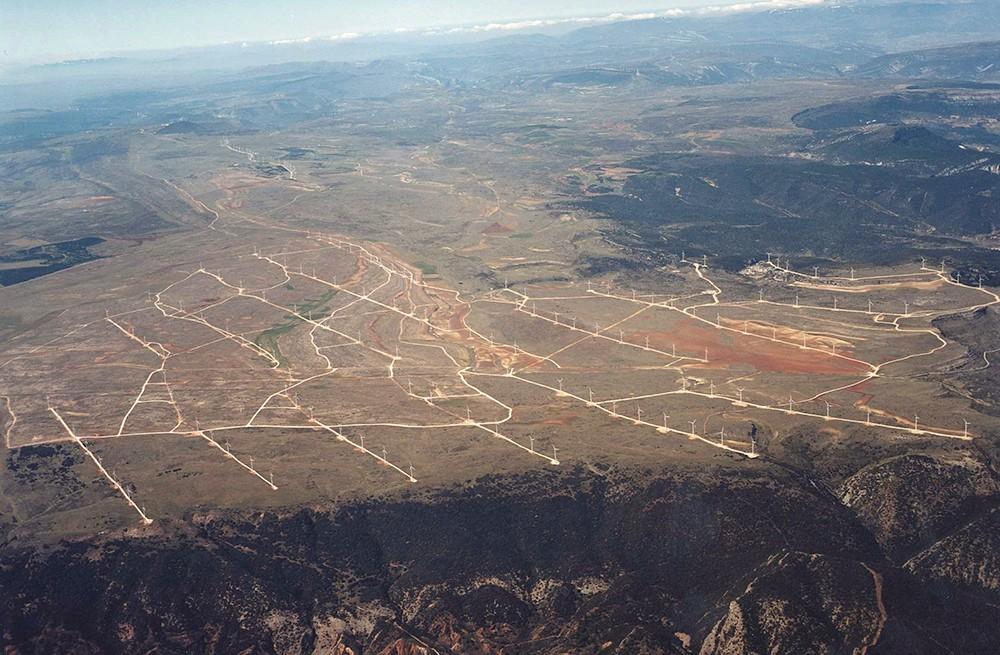 Parques eólicos Páramo de Poza. Castilla y Léon