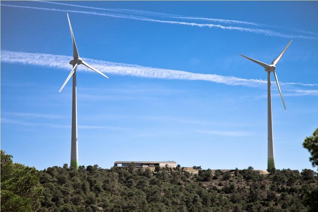 Parques eólicos de Villanueva. Valencia