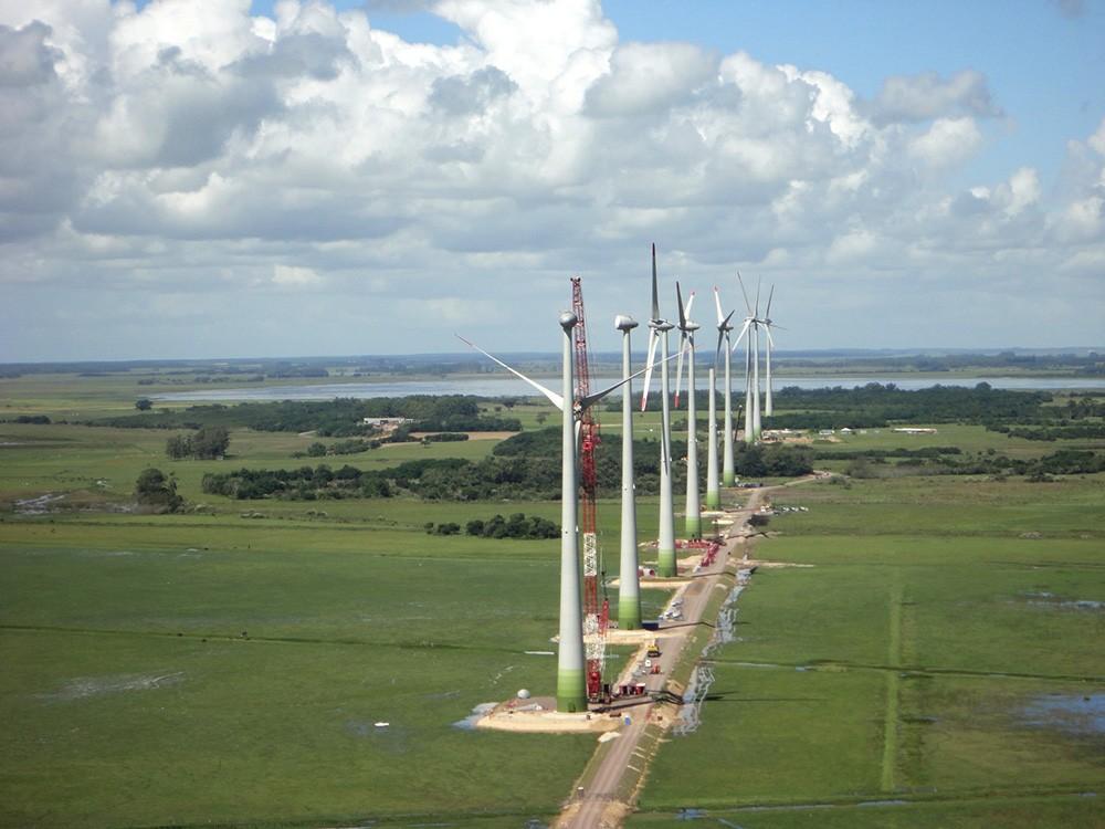 Parque eólico Sangradouro 3. Brasil