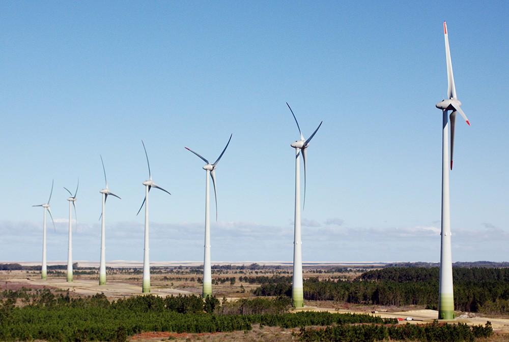 Parque eólico Fazenda Rosario 1. Brasil