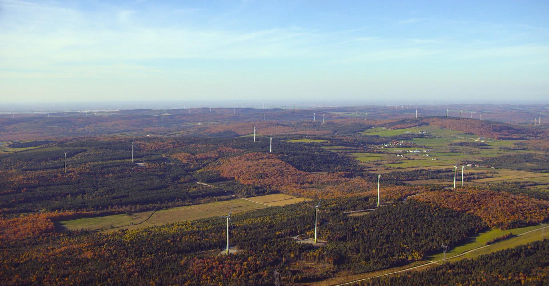Parque eólico de L'Érable
