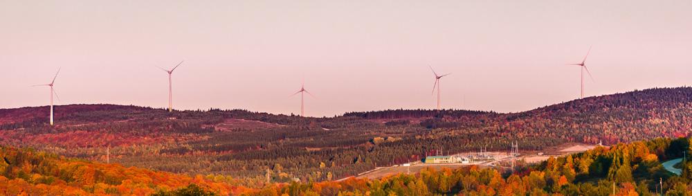 Parque eólico de L'Erable. Canadá
