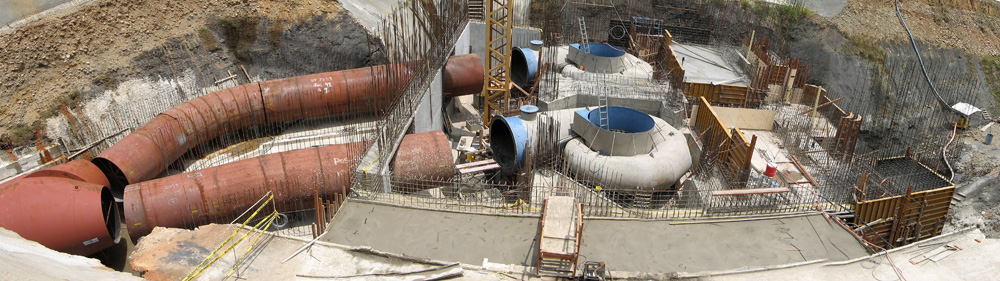 Central Hidroeléctrica de Masparro. Venezuela