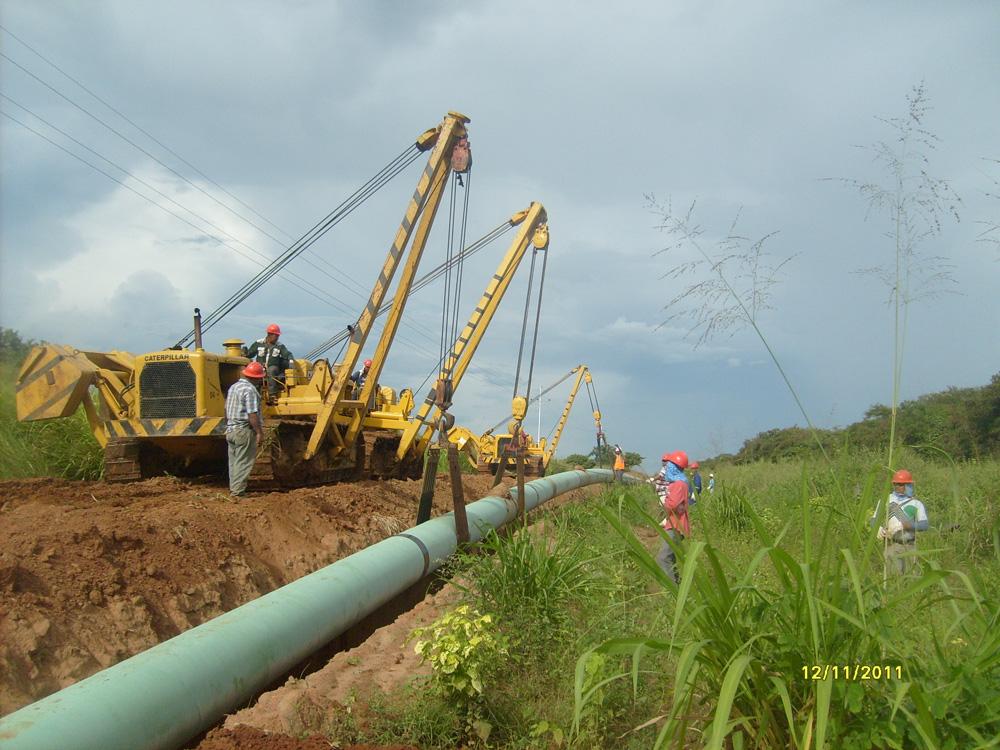Gasoducto Santa Ana-San Joaquín. Venezuela