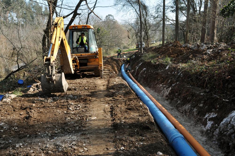 Canalización de gas Balmori-Posada de Llanes. Asturias