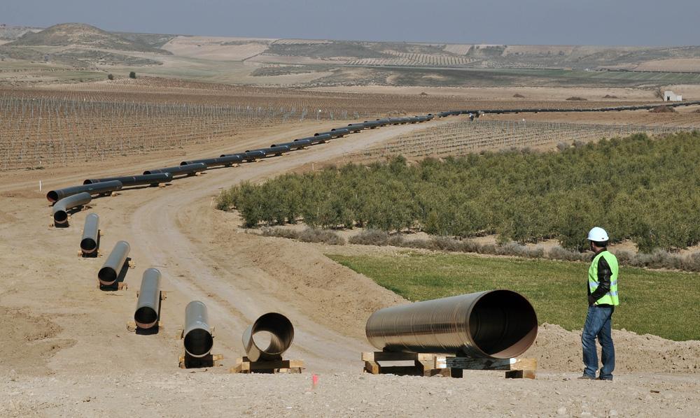 Gasoducto Yela-Villar de Arnedo. La Rioja