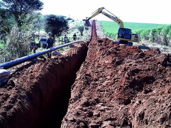 Construcción de gaseoducto Industria Guardian. Brasil
