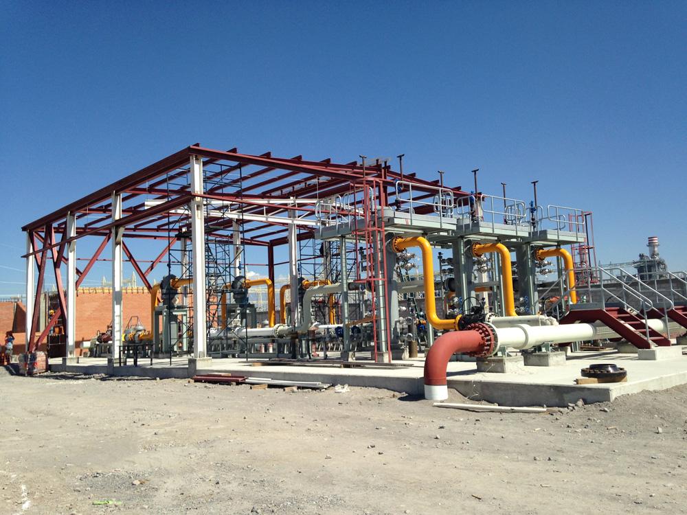 Gasoducto Morelos. México