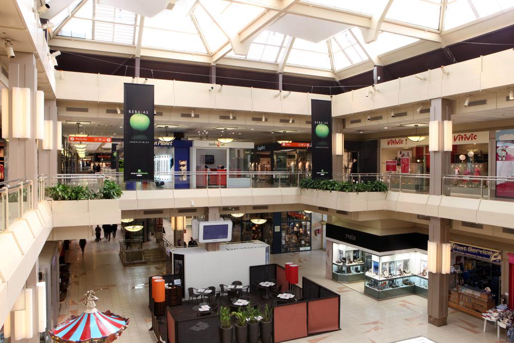 Maintenance du centre commercial Moraleja Green. Madrid