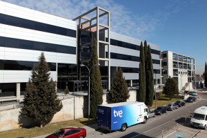 Refurbishment of infrastructure to expand the RTVE Data Processing Centre, Madrid (Spain)