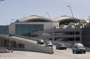 New area terminal at Alicante Airport. Installations (Spain).