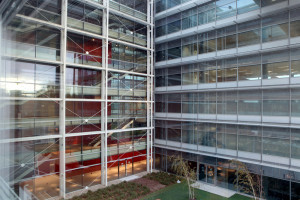 Installations at the new headquarters of Banco Popular, Madrid (Spain).