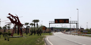 Signage and control systems for the access routes to the El Prat Airport, Barcelona (Spain)