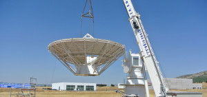 Deimos-2 satellite monitoring, control and receiver antenna in Puertollano, Ciudad Real (Spain)
