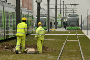 Electrification of the tramline in Vitoria, Álava (Spain)