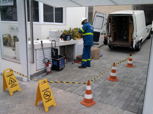 Technical assistance to customers in São Paulo (Brazil)