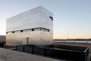 Construction of a multifunctional building at the Astexol 2 solar thermal plant, Badajoz (Spain)