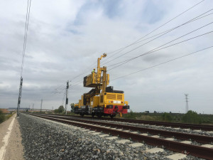 Electrification of the Torrente-Xátiva section of the Madrid-Levante AVE high-speed line