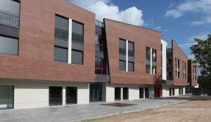 Ronald McDonald House providing accommodation for families with children in hospital, Madrid (Spain)