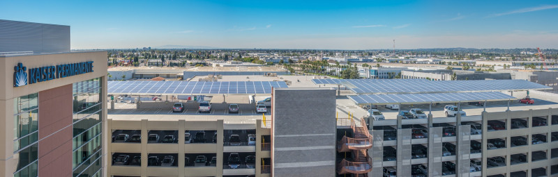 Elecnor Group's first solar photovoltaic power plant in the United States